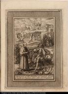 Aparezesele al Bto. Sebastian un Compadre difunto, y le pide sus Oraciones para salir del Purgatorio