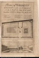 Plano y vista interior del Panteon erigido en el Convento de N.P.S. Fran[cis]co de Lima por su actual Guardian el R.P. Fr. Antonio Diaz año de 1803.