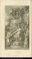[Allegory of Spanish conquest of Mexico]