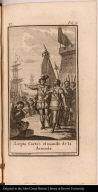 Acepta Cortés el mando de la Armada