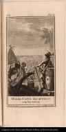 Manda Cortés dar al traves con las naves