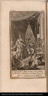 Congregados Motezuma y los nobles mexicanos declaran á Carlos V. por legitimo sucesor de su Imperio.