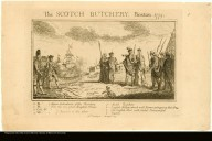 The SCOTCH BUTCHERY, Boston 1775.