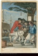 THE BOSTONIAN'S Paying the EXCISE-MAN, or TARRING & FEATHERING [BOSTONIANS PAYING THE EXCISEMAN, OR TARRING AND FEATHERING]