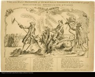 THE many Headed MONSTER of SUMATRA, or LIBERTY'S EFFORTS against MINISTERIAL OPRESSION; A VISION.