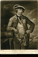 ISRAEL PUTNAM ESQR. MAJOR GENERAL of the Connecticut Forces, and COMMANDER in CHIEF at the Engagement on BUNCKERS-HILL near BOSTON, 17 June 1775.