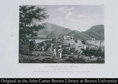 Vue de Gracebay dans l'Isle d'Antigoa aux Indes occidentales.