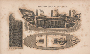 Sections of a Slave Ship.