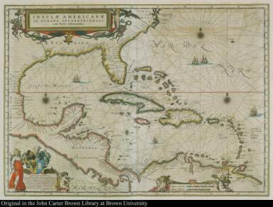 Insvlae Americanae in Oceano septentrionali, cum terris adiacentibus.