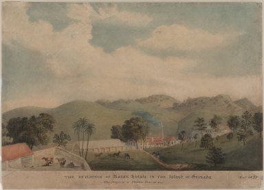 The Buildings of Maran Estate in the Island of Grenada. The Property of Thomas Duncan Esqr. Novr. 1822