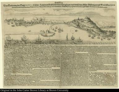 Entwerffung von Eroberung der Stadt Olinda so in der hauptmanschafft Pharnambuco gelegen ...