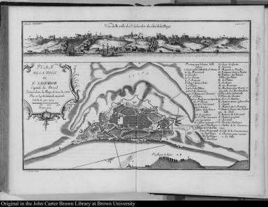 Plan de la ville de St. Salvador Capitale du Bresil ...
