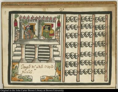 2a Templo del ydolo Uitzilopuchtli