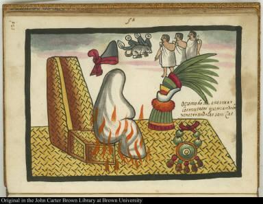 5a Otro modo de enterrar los muertos, quemandolos y enterrando las senizas.
