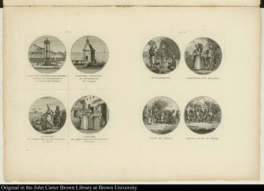 [People and places of St. Domingue]