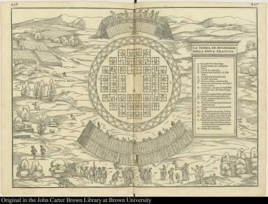 La terra de Hochelaga nella Nova Francia.