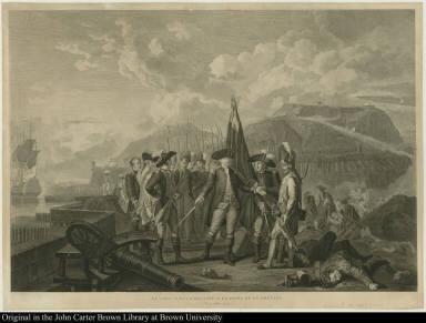 La valeur récompensée a la prise de la Grenade, le 4 juillet 1779.