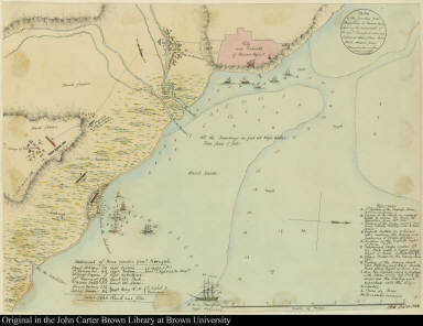 Sketch of the Country from Reduction to Buenos Ayres, shewing the movements of B: Genl. Beresford, when he Captured that place June 1806. ... by Capt: Donnelly