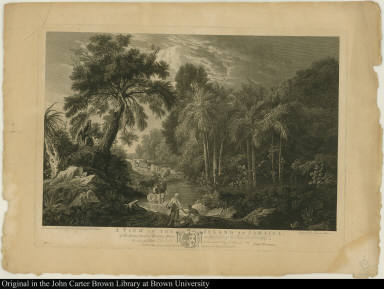 A View in the Island of Jamaica, of the Spring-head of Roaring River on the Estate of William Beckford Esqr: