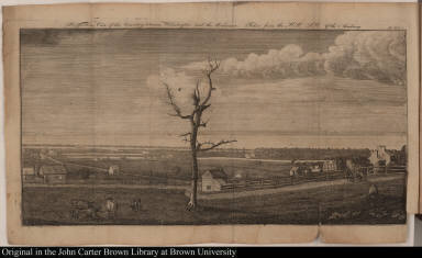 Perspective View of the Country between Wilmington and the Delaware, Taken from the Hill S.W. of the Academy.