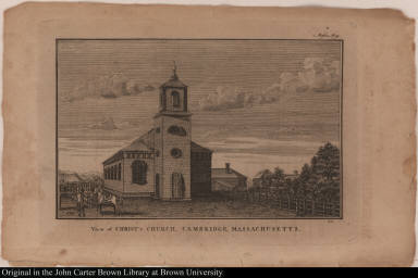 View of Christ's Church, Cambridge, Massachusetts.