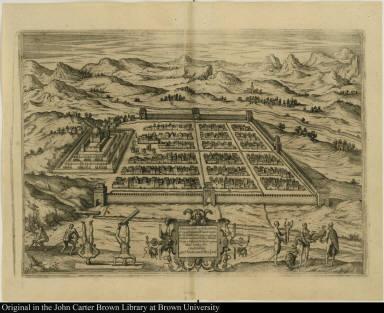 Cusco urbs nobilissima & opule[n]tissima Peruani regni in occide[n]tali parte sita, ...