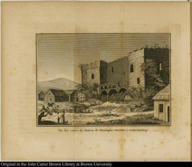 Vue des ruines du Christophe Colomb à Santo-Domingo.