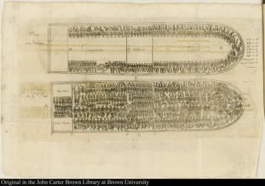 [Diagram of slave ship]