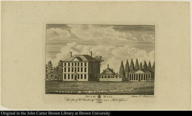 Bush Hill. The Seat of Wm. Hamilton Esqr. near Philadelphia