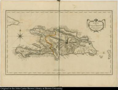 Carte de l'Isle St. Domingue ...