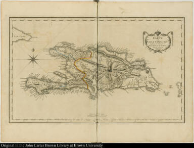 Carte de l'Isle St. Domingue ...