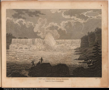 View of the Horse-Shoe Fall of Niagara.