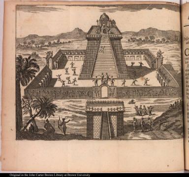 [Aztec temple]