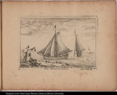 Brigatins des Isles de l'Amerique, Servants pour le Commerce quelquefois arméz en Course