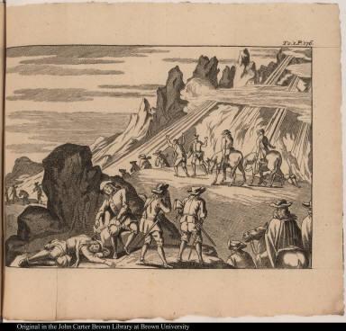 [Les peines & les fatigues qu'eurent à supporter Dom Diegue d'Almagro & ses gens, dans la découverte du Chili.]