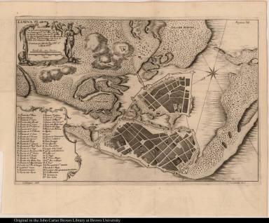 Plano de la Ciudad de Cartagena de las Indias ...