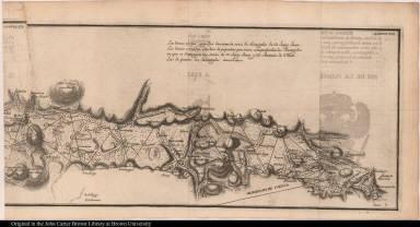 Carta dela Meridiana medida en el Reyno de Quito ...