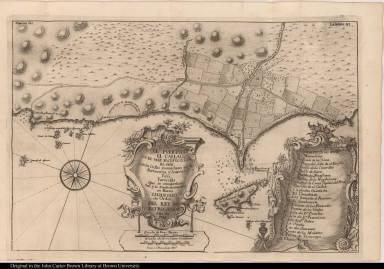 El Puerto de el Callao, en el Mar Pacyfyco, que el sur: ...