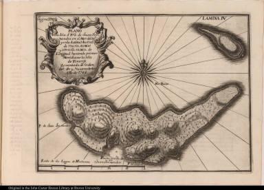 Plano dela Isla d[e] Tra. de Juan Fernandez en el Mar del Sur ...
