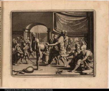 [At the court of Moctezuma]