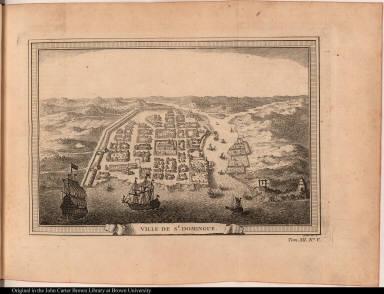 Ville de St. Domingue.