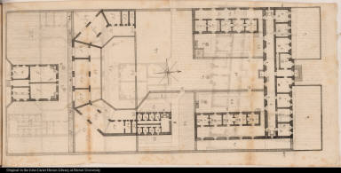[Plan of the Philadelphia prison]