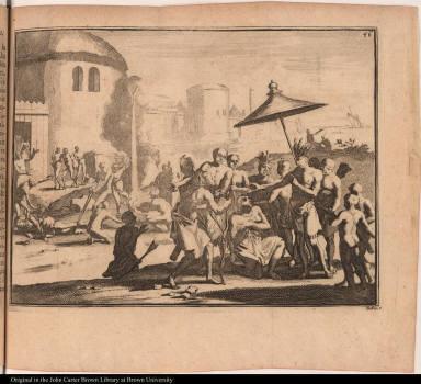 [Mort de trois Espagnols, & les tourmens que souffrit Jean Ortis.]