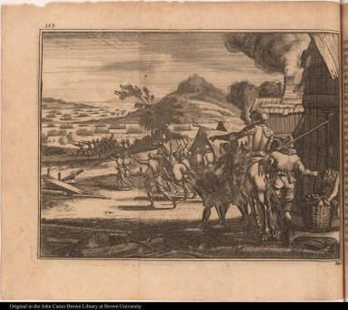 [Battle between native Americans and Spanish at Chicaça]