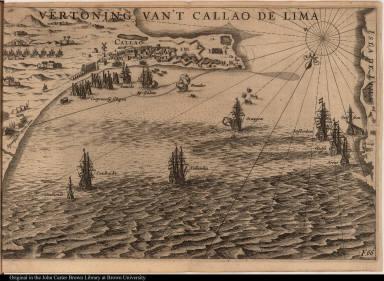 Vertoning van't Callao de Lima