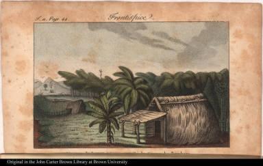 Ajoupas du Lagon peinier, appellé le Cirque des Bambous.