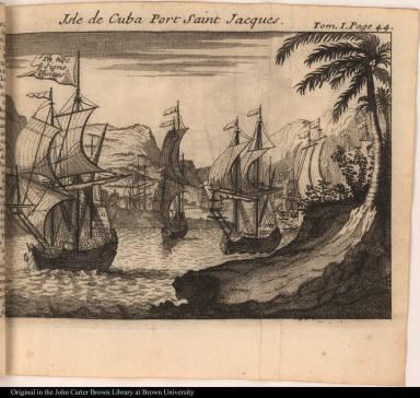 Isle de Cuba Port Saint Jacques.