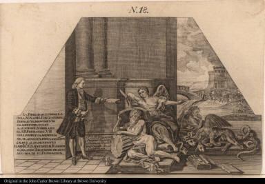 La Fidelidad, y, ternura de la M. N. v. M. J. C. de Guatemala erigio este monumento en medio de dolor a suamado soberano el S. D. Fernando. VII ...