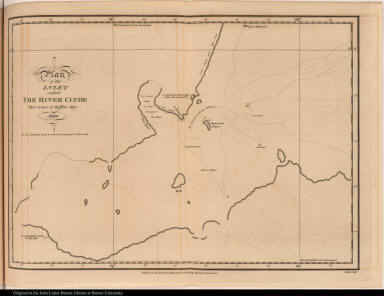 Plan of the Inlet called The River Clyde West Coast of Baffins Bay 1820