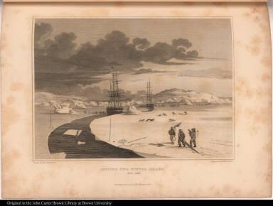 Cutting into Winter Island, Oct. 1821.